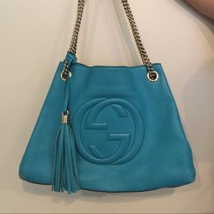 Authentic Gucci Soho Shoulder Bag